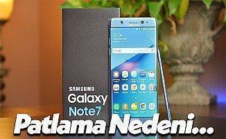 Samsung Galaxy Note 7 Modelleri Neden Patladı? İşte Sonucu!