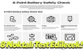 Samsung Yeni Pilleri 8 Noktalı Teste Tabii Tutacak!