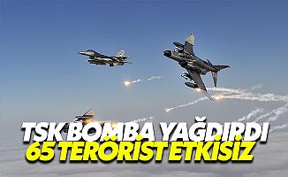Savaş Uçakları DEAŞ'ı Vurdu