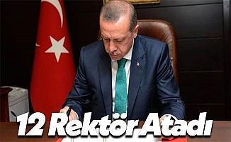 Son Dakika: Erdoğan 12 Yeni Rektör Atadı!