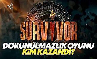 Survivor 2017 22 Ocak Pazar dokunulmazlık oyununu kim kazandı