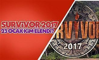 Survivor 2017 23 Ocak kim elendi Acunn SMS oylaması sonuçları