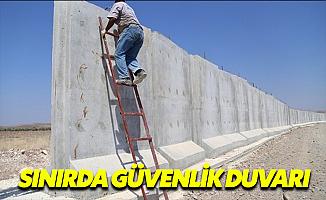 TSK Sınıra Duvar Ördü