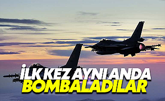 Türk ve Rus Jetlerinden DEAŞ'a Ortak Operasyon