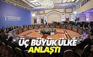 Türkiye, İran ve Rusya Anlaştı