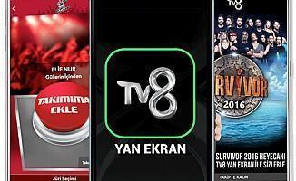 TV8 Survivor 2017 Oy Kullanma Yan Ekran Uygulaması