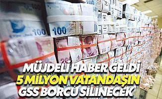 5 Milyon Kişinin GSS Gecikme Borcu Silinecek