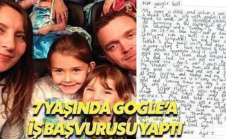 7 Yaşındaki Kız Google'a Kız Başvurusu Yaptı