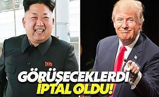 ABD-Kuzey Kore Görüşmeleri İptal Edildi