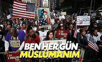 ABD'de Müslümanlar Büyük Destek