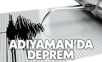 Adıyaman'da 3.5 şiddetinde deprem