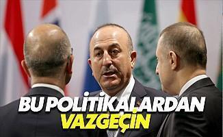 Almanya'da Konuşan Çavuşoğlu'nun Hedefinde İran Vardı