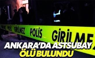Ankara'da Astsubay Ölü Bulundu