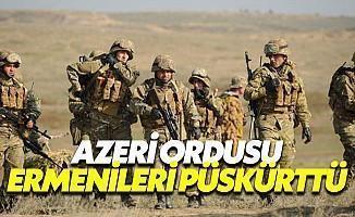 Azerbaycan Ordusu, Ermenileri Püskürttü