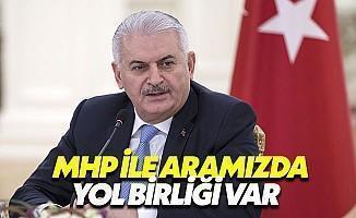 Başbakan, MHP ile Yapacakları Ortak Çalışmaları Anlattı