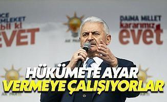 Başbakan Yıldırım'dan Manşet Ayarı