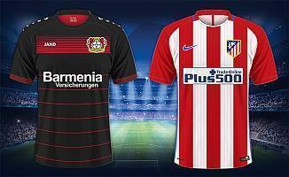 Bayer Leverkusen Atletico Madrid maçı ne zaman saat kaçta hangi kanalda şifresiz mi