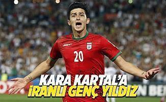 Beşiktaş'a 22'lik forvet Sardar Azmoun