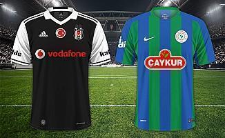Beşiktaş Çaykur Rizespor maçı ne zaman saat kaçta