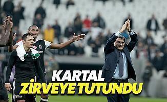 Beşiktaş Zirveye Tutuntu
