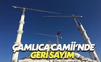 Çamlıca Camii'nin İnşaatı Tamamlandı
