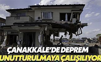 Çanakkale'de Çocuklara Deprem Unutturulmaya Çalışılıyor