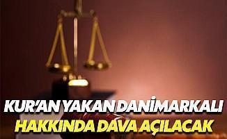 Danimarkalı Kur'an-ı Kerim yakan kişi hakkında dava açıldı