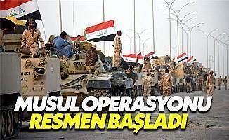 DEAŞ'ı Musul'dan Temizleme Operasyonu Başladı