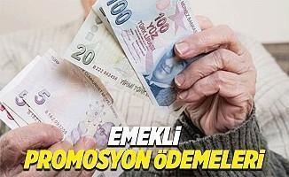 Emekli promosyon ödemeleri ne zaman başlıyor ne kadar maaş alacak