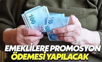 Emeklilere Promosyon Ödemesi Yapılacak