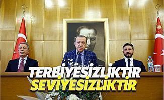 Erdoğan: Bu Terbiyesizliği Kabul Etmem Mümkün Değil
