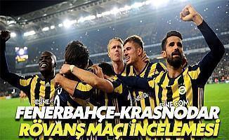 Fenerbahçe Krasnodar Rövanş Maçı İncelemesi