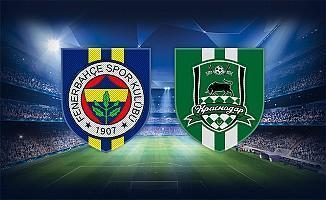 Fenerbahçe nasıl tur atlar? Fenerbahçe Krasnodar maçı hangi kanalda şifresiz mi?