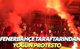 Fenerbahçe Taraflarlarından Yoğun Protesto