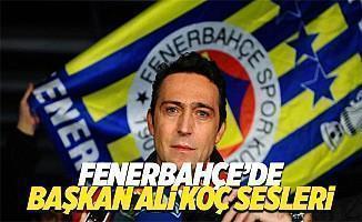 """Fenerbahçe taraftarlarından """"Ali Koç başkan, Fenerbahçe şampiyon"""""""