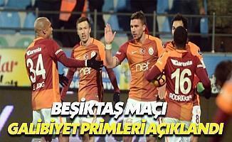 Galatasaray'da Beşiktaş Maçı Primleri Açıklandı