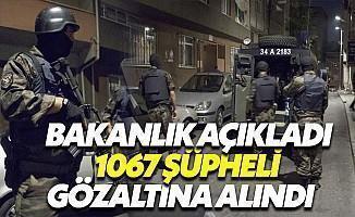 İçişleri Bakanlığı Terör Operasyonlarının Bilançosunu Açıkladı