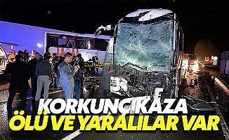 Iğdır'da otobüsler Çarpıştı: Ölü ve Yaralılar Va