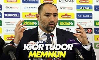 Igor Tudor: Doğru Yoldayız