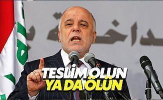 Irak Başbakan İbadi: Önce İnsan Kurtaracağız