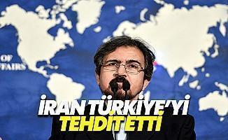 İran: Türkiye'yi Uyarıyoruz