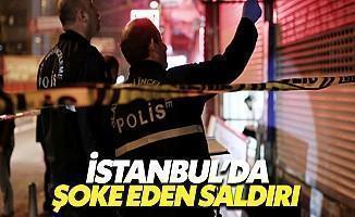 İstanbul'da Kahvehaneye Saldırı