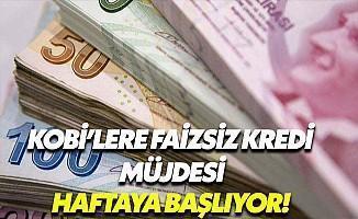 KOBİ'ye Kredi Müjdesi! Başvurular Haftaya Başlıyor!
