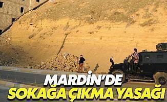 Mardin'de Sokağa Çıkma Yasağı İlan Edildi