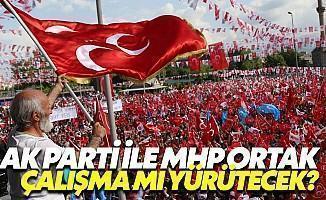 """MHP ile AK Parti Referandumda """"Ortak Çalışma"""" Mı Yürütecek?"""