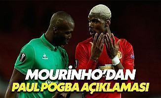 """Mourinho'dan Pogba Açıklaması: """"Ucuza Bile Aldık"""""""