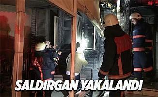 Müjdat Gezen Sanat Merkezi kundaklayan zanlı İstanbul'da yakalandı
