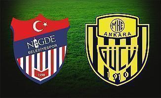Niğde Belediyespor Ankaragücü maçı ne zaman hangi kanalda saat kaçta