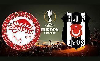 Olympiakos Beşiktaş maçı ne zaman saat kaçta hangi kanalda şifresiz mi yayınlanacak
