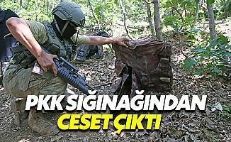 PKK Sığınağında Terörist Cesetleri Bulundu